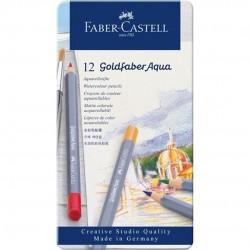 ASTUCCIO MET. 12 PASTELLI ACQUERELLABILI GOLDFABER