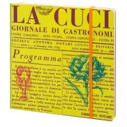 TACCUINO RICETTARIO COOK BOOK 16X16CM