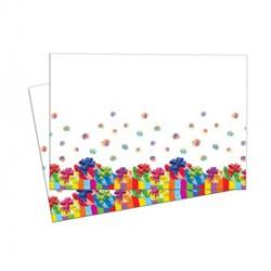Tovaglia in plastica dim. 120x180cm Buon Compleanno Pegaso