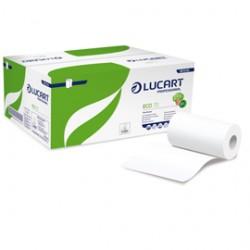 Asciugamani in rotolo MINI 13cm - 70mt Eco 70 Lucart - Conf da 12 pz.