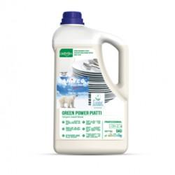 Detergente piatti tanica 5Lt Green Power Sanitec