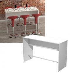 Tavolo alto 160x70xH105cm Bianco Ristoro