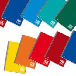 Blocco spiralato A4 4x4 1rigo 80gr One Color Blasetti - Conf da 3 pz.