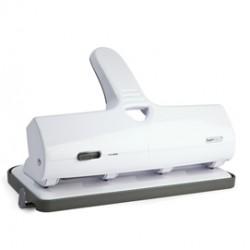 Perforatore alti spessori ALU 40 4 fori fissi bianco max 65 fg Rapesco