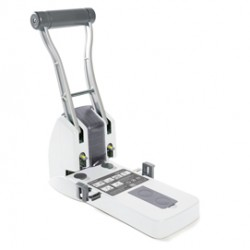 Perforatore alta capacitA ECO P2200 2 fori bianco max 150 fg Rapesco