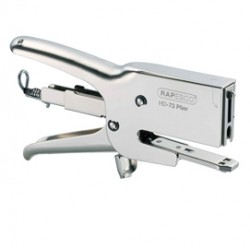 Cucitrice a pinza HD-73 argento-chrome per alti spessori Rapesco