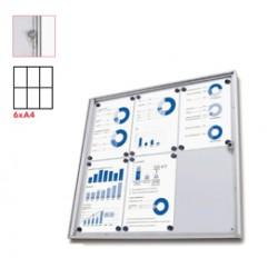 Bacheca interni Magnetica 6XA4 anta battente Economy Jansen