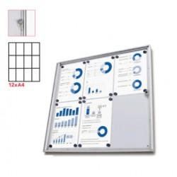 Bacheca interni Magnetica 12XA4 anta battente Economy Jansen