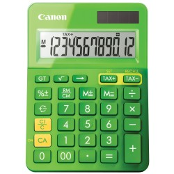 CALCOLATRICE CANON LS-123K-METALLIC GREEN