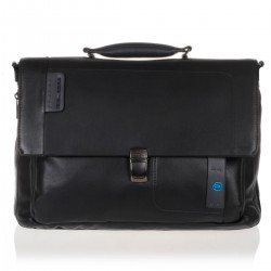 CARTELLA NERA PORTA NOTEBOOK E iPad PIQUADRO PULSE