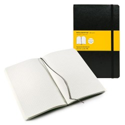 TACCUINO LARGE SOFT COVER QUADRETTI MOLESKINE