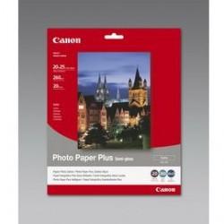 CARTA FOTOGRAFICA SEMI LUCIDA CANON SG-201 Plus 20X25 - 20 fogli 260g/m2 - Conf da 2 pz.