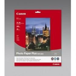 CANON CARTA FOTOGRAFICA SG-201 SEMI LUCIDA 260g/m2 25x30cm 20 FOGLI - Conf da 2 pz.
