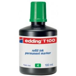REFILL EDDING T100 PERM. MARK. VERDE