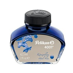 FLACONE INCHIOSTRO 4001  62.5ML PELIKAN BLU ROYAL