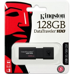 CHIAVETTA USB 128GB 100 G3 DATA TRAVEL 3.0