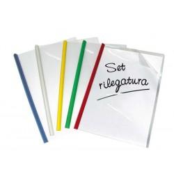 SET RILEGATURA 5 DORSI + 5 COPERTINE
