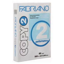 CARTA COPY2 B4 80GR 500FG PERFORMANCE FABRIANO (25.7X36.4)