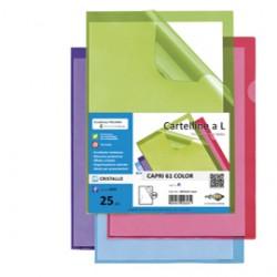 25 cartelline a L lilla CAPRI 61 color sei rota