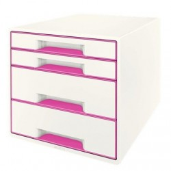 CASSETTIERA DUAL COLOR CUBE WOW FUCSIA MET