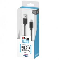 Cavo USB-C (1mt) nero TRUST