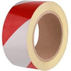 RT.PVC SEGNALETICO 50X50 BIANCO/ROSS ADESIVO