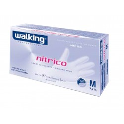 "CF.100 GUANTI NITRILE     ""NITRICO WALKING"" TG.S"