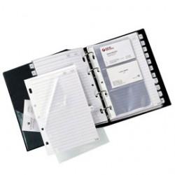 RUBRICA TELEFONICA TELEX COMBI 2000 BLU 15X21CM (A5)