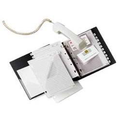RUBRICA TELEFONICA TELEX COMBI 2000 NERO 15X21CM (A5)