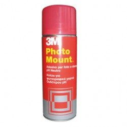 ADESIVO SPRAY 3M PHOTO MOUNT ALTA QUALITA - TRASPARENTE 400ML
