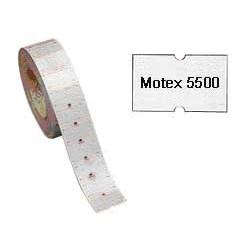 ROTOLO 1000 ETICHETTE 20X12 BIANCHE RIMOV.TOWA GS-GM-MOTEX 5500