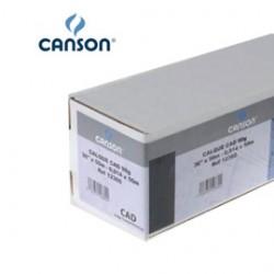 CARTA INKJET PLOTTER 610MM(24) X 50MT 90/95GR LUCIDA CAD CANSON