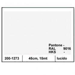 PLASTICA ADESIVA DC-FIX 45CM X 15MT BIANCO 127 LUCIDO