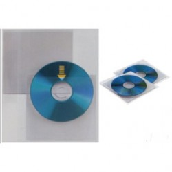 25 BUSTE A SACCO PPL 12,5X12CM SOFT CD PRO IN TESSUTO