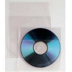 25 BUSTE A SACCO PPL 12,5X12CM CD A C/PATELLA E RETRO ADESIVO