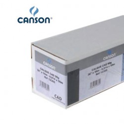 CARTA INKJET PLOTTER 59,4X84,1CM (A1) 90GR 125FG OPACA CAD CANSON