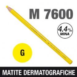 MATITA DERMATOGRAFICA 7600 GIALLO