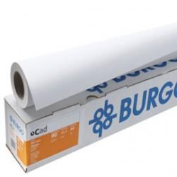 CARTA INKJET PLOTTER OPACA 914MMX50MT 80GR CAD 80ECO BURGO