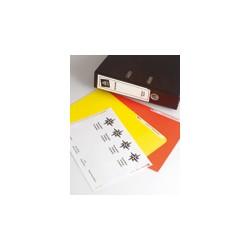ETICHETTE INKJET BIANCHE COPRENTI J8171-25FG (4ET/FG 200X60MM)X RACCOGLITORI