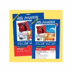 CARTA INKJET A4 200GR 50FG COLOR PHOTO OPACA 8734 MARRI