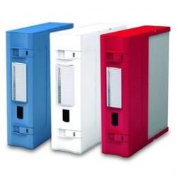 SCATOLA ARCHIVIO COMBI BOX E600 ROSSO 29,8X36,2 D.9CM