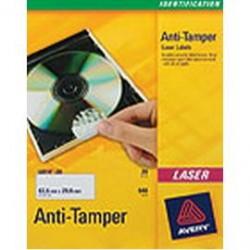 ETICHETTE LASER ANTIMANOMISSIONE L6112-20FG (24ET/FG 40MM) AVERY