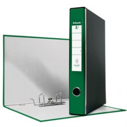 REGISTRATORE EUROFILE G52 VERDE DORSO 5CM F.TO COMMERCIALE