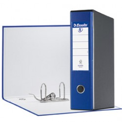REGISTRATORE EUROFILE G53 BLU DORSO 8CM F.TO COMMERCIALE