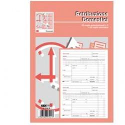 BLOCCO RETRIBUZIONI DOMESTICI 24x15cm 25fg 3copie ric. E5744A EDIPRO