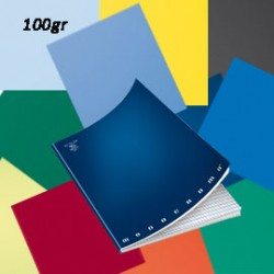 MAXIQUADERNO A4 36fg+2 100gr 5mm c/marg MONOCROMO 100