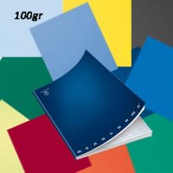 MAXIQUADERNO A4 36fg+2 100gr 5mm MONOCROMO 100