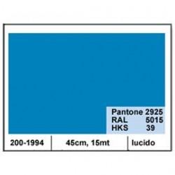 PLASTICA ADESIVA DC-FIX 45CM X 15MT AZZURRO CIELO 114 LUCIDO