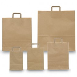 BLISTER 25 SHOPPERS 45X15X50CM AVANA NEUTRO PIATTINA