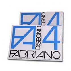 PACCO 25FG FABRIANO4 50X70CM RUVIDO 200GR